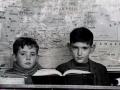 En la escuela 1955