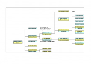 Arbol genealogico familia hernandez Argentina